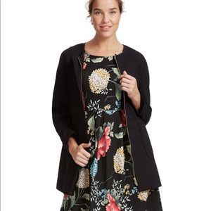 Liz Claiborne Black Knit Jacket